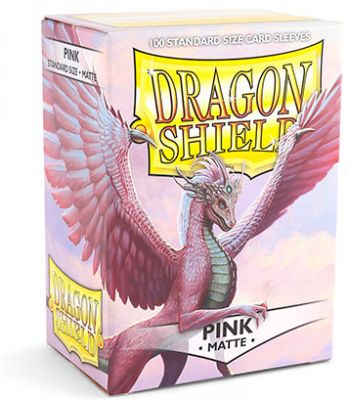 DRAGON SHIELD MATTE PINK 100-CT