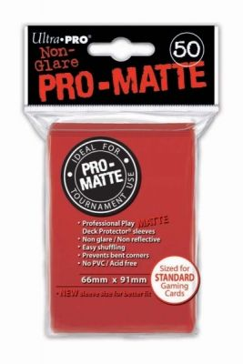 MATTE RED PRO DECK PROTECTOR