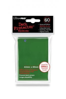 GREEN YGO NEW DECK PROTECTOR 60-CT
