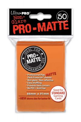 ORANGE PRO-MATTE DECK PROT.50-CT