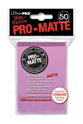 PINK PRO-MATTE DECK PROT.50-CT