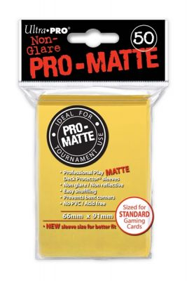 YELLOW PRO-MATTE DECK PROT.50-CT