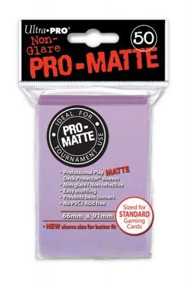 LILAC PRO MATTE DECK PROTECTORS .50-CT