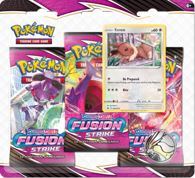 SS8 Fusion Strike 3-Booster Blister
