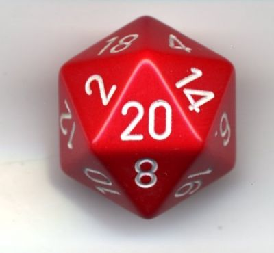 OPAQUE D20 LOOSE DICE