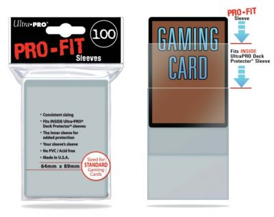 PRO-FIT STANDARD SLEEVES (100-CT)