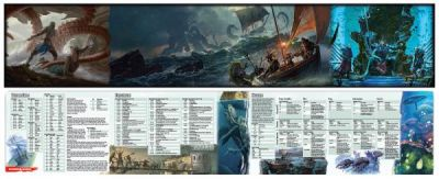 DD5: OF SHIPS & THE SEA DM SCREEN