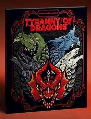 DD5: TYRANNY OF DRAGONS ALT-COVER