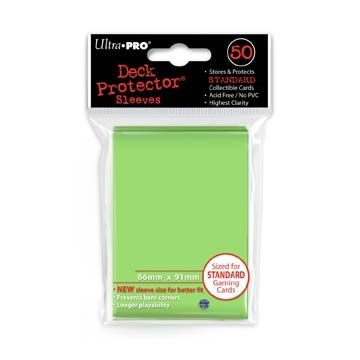 LIME GREEN DECK PROTECTOR 50-CT