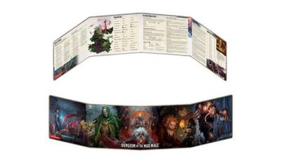 DD5: DUNGEON OF THE MAD MAGE DM SCREEN