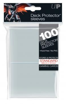 Clear Deck Protector 100ct
