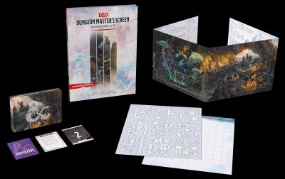 DD5 Dungeon Master's Screen Dungeon Kit