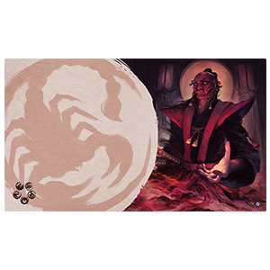 L5R LCG: MASTER OF SECRETS PLAYMAT