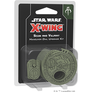 STAR WARS X-WING: SCUM MANEUVER DIAL UPGRADE KIT