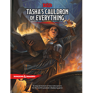 DD5 Tasha's Cauldron of Everything Book