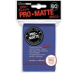 BLUE SMALL PRO MATTE DECK PROTECTOR 60-CT