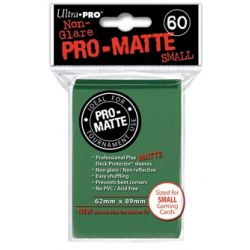 GREEN SMALL PRO MATTE DECK PROTECTOR 60-CT