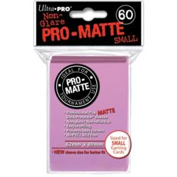 PINK SMALL PRO MATTE DECK PROTECTOR 60-CT