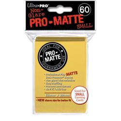 YELLOW SMALL PRO MATTE DECK PROTECTOR 60-CT