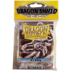 DRAGON SHIELD SMALL CLEAR 50-CT