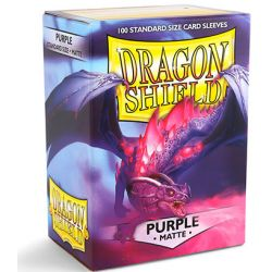 DRAGON SHIELD MATTE PURPLE 100-CT