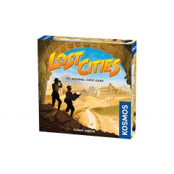 LOST CITIES-THE CARD GAME