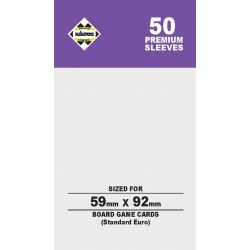 80M SLEEVES 59X92(STANDARD EURO)
