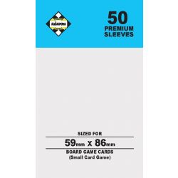 80M SLEEVES 59X86(SMALL CARD)