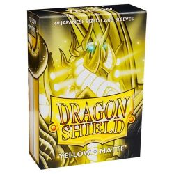DRAGON SHIELD YELLOW JAPAN MATTE