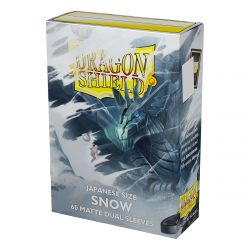 DS Small Matte Dual Snow Sleeves 60ct