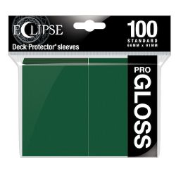 Eclipse Gloss Forest Green Deck Protector 100ct