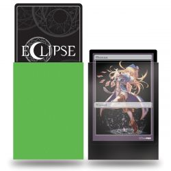 Eclipse Lime Green Small Matte Deck Protector 60ct