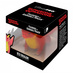 D&D RED DRAGON FIGURINE