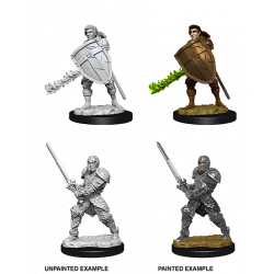 DD5: NOLZUR MALE HUMAN FIGHTER MINIS
