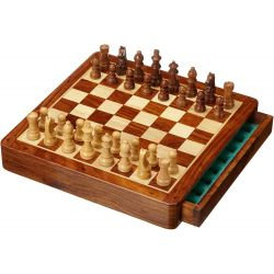 """EXKLUSIV"" MAGNETIC CHESS SET, FIELD 30MM"