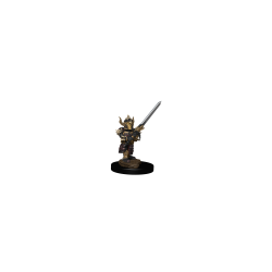 DD5 Icons Premium Mini: Halfling Male Fighter