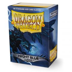 DRAGON SHIELD CLASSIC NIGHT BLUE SLEVES 100-CT