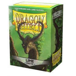 Dragon Shield Matte Lime Sleeves 100ct