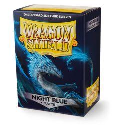 DRAGON SHIELD MATTE NIGHT BLUE 100CT