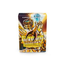 DRAGON SHIELD GOLD SMALL MATTE 60CT