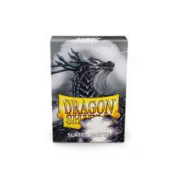 DRAGON SHIELD SLATE SMALL MATTE 60CT