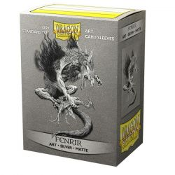 Dragon Shield Classic Matte Art Fenrir Sleeves 100ct