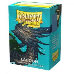 DS Matte Dual Lagoon Sleeves 100ct