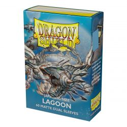 DS Small Matte Dual Lagoon Sleeves 60ct