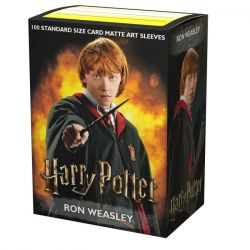 Dragon Shield Wizarding World Ron Weasley Matte Art Sleeves 100ct
