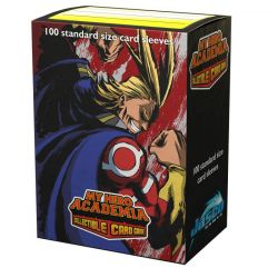 Dragon Shield MHA All Might Flex Matte Art Sleeves 100ct