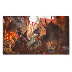 Dragon Shield Playmat Art Valentine Dragons 2021