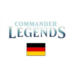 Commander Legends DE Deck Display