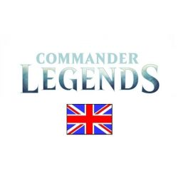 Commander Legends EN Draft Booster Display