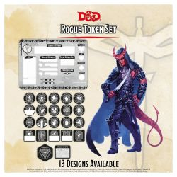 DD5 Rogue Token Set (Player Board & 23 tokens)